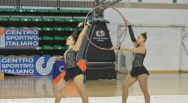 Risultati gara provinciale di ginnastica ritmica