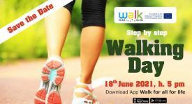 Venerdì 18 giugno è il Walking Day