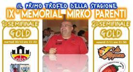 IX Memorial Mirko Parenti: semifinali!